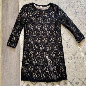 Aritzia Wilfred Long Sleeve Lace Dress - XS